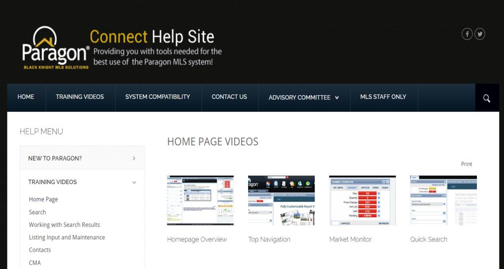 Paragon Connect Help site