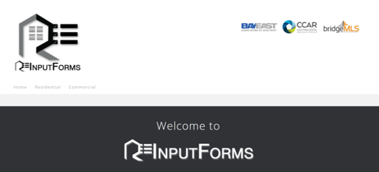 R.E.Inputforms Logo and Banner