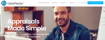 Datamaster: Appraisals made Simple