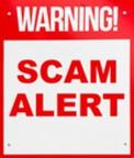 Warning! Scam Alert