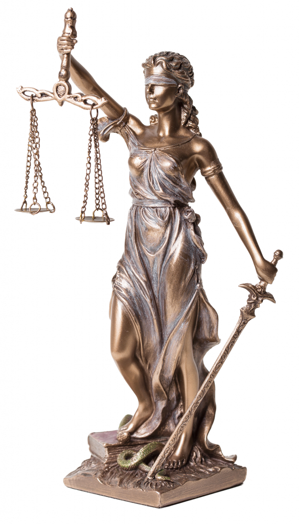 Lady Justice Bronze Statue