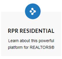 RPR residential