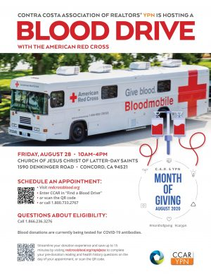 ypn blood drive flyer